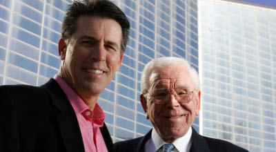 Robert Schuller and his son.
