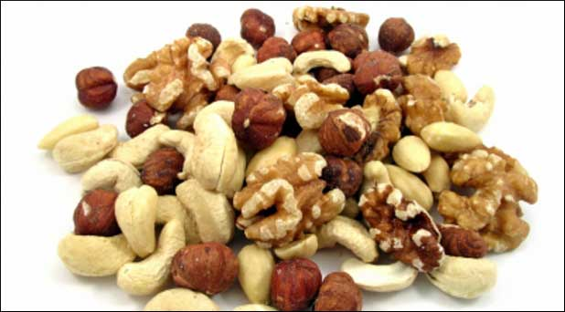 Nuts and alkaline