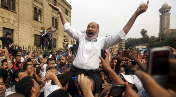 Egypt protests Israel