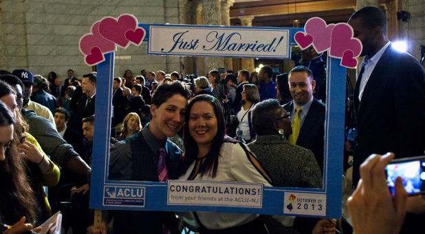 gay marriage in New Jersey