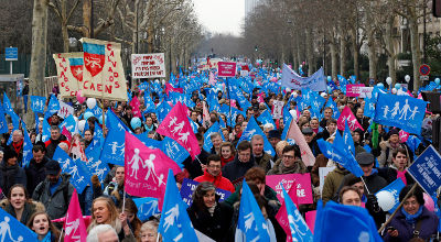 France gay marriage protest