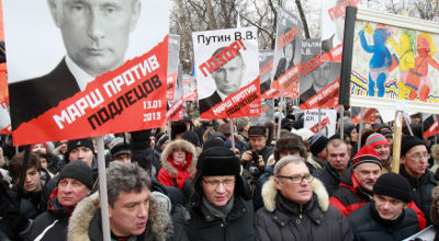 Russians protest adoption ban