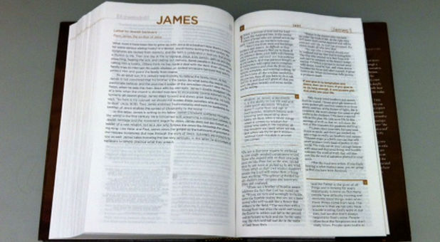 letter of James in Bible