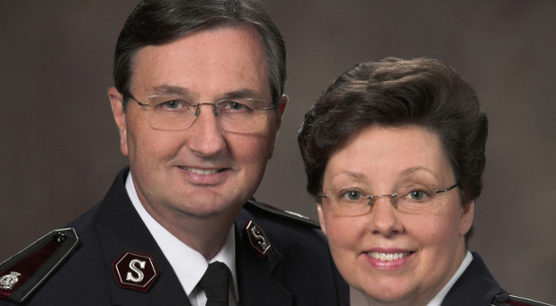 The Salvation Army's Jim and Carolyn Knaggs