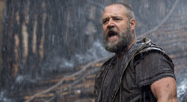 A scene from the movie 'Noah.'