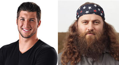 Tim Tebow, Willie Robertson