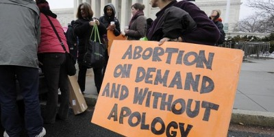 pro-abortion protest
