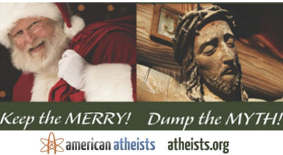 American Atheists billboard