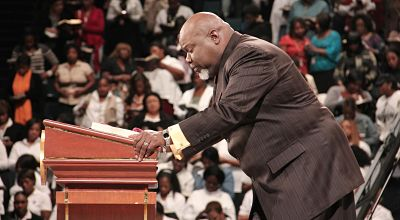 Bishop T.D. Jakes at the Potter's House