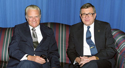Billy Graham with Chuck Colson