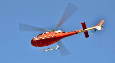 Mercy Air helicopter