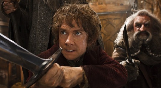A scene from 'The Hobbit'