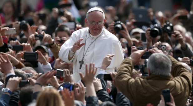 Is Pope Francis doing a double-take on his gay marriage stance?
