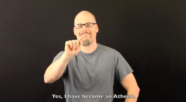 Yes, I am an atheist.