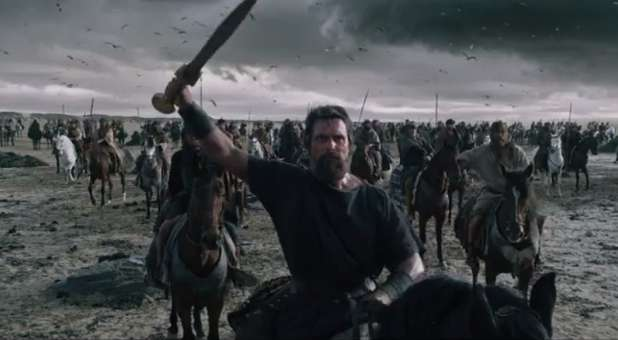 """A scene from the movie """"Exodus: Gods and Kings."""""""