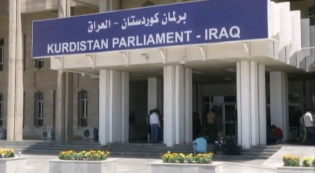 Kurdistan Parliament in Iraq