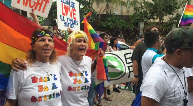 Florida gay marriage supporters