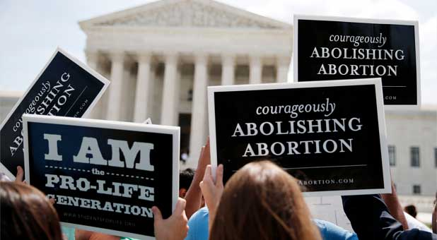 Supreme Court abortion protest