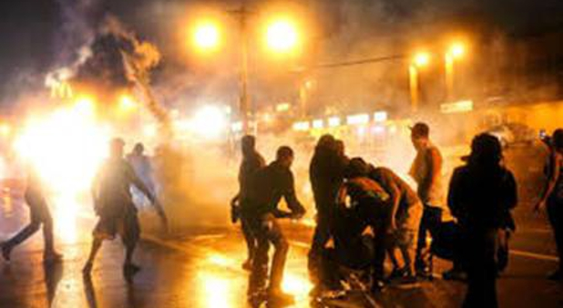 riots in Ferguson, MO.