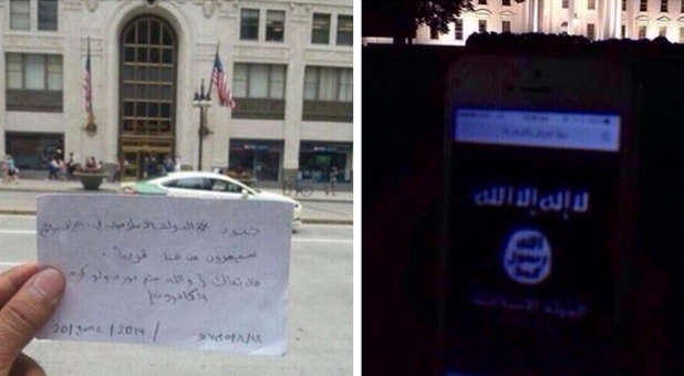 ISIS message to U.S.