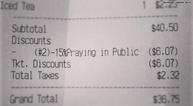 discount for praying