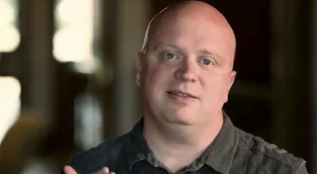 Caleb Kaltenbach was raised by gay parents, but then became a pastor.