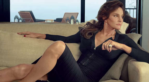 """Bruce """"Caitlyn"""" Jenner in the promo for """"I am Cait."""""""
