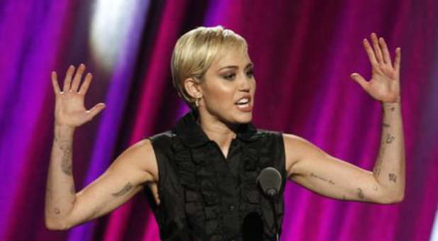 Miley Cyrus is rejecting her Christian upbringing.