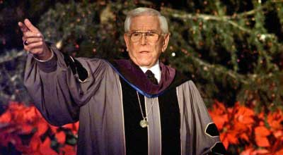 Televangelist Robert Schuller has gone to be with the Lord.