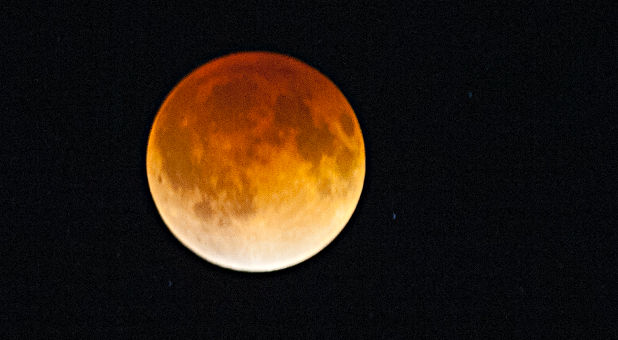 What is the biblical and prophetic symbolism of a blood moon?