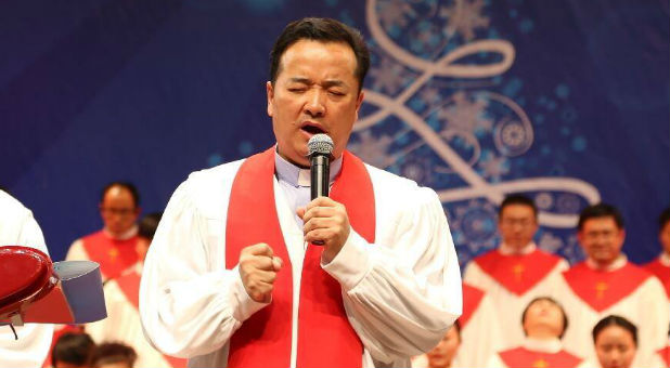 """China Aid reported Chinese authorities had removed Pastor Gu """"Joseph"""" Yuese of the government sanctioned Chongyi Church in Hangzhou for his public opposition towards thousands of cross demolitions throughout Zhejiang province since early 2014."""