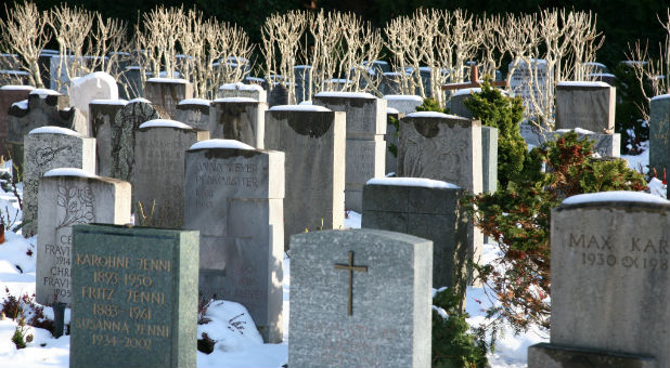 A revival broke out in the church cemetery.