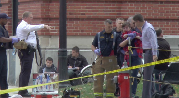 Ohio State's main campus was the site of a potential act of terrorism Monday.