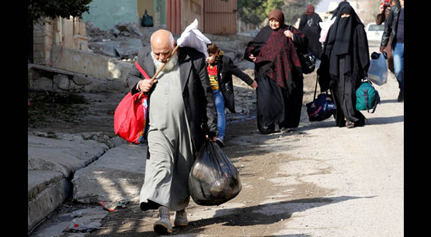 Displaced Muslims in Syria