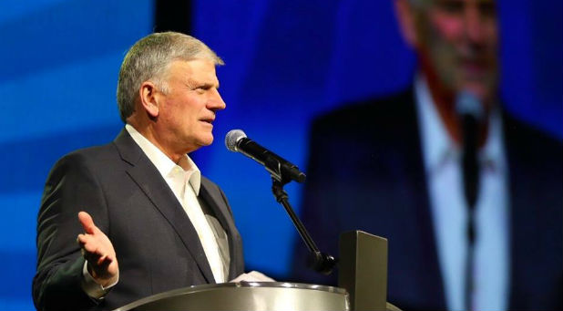 Franklin Graham founded Samaritan's Purse, which just had eight aid workers released from rebels.