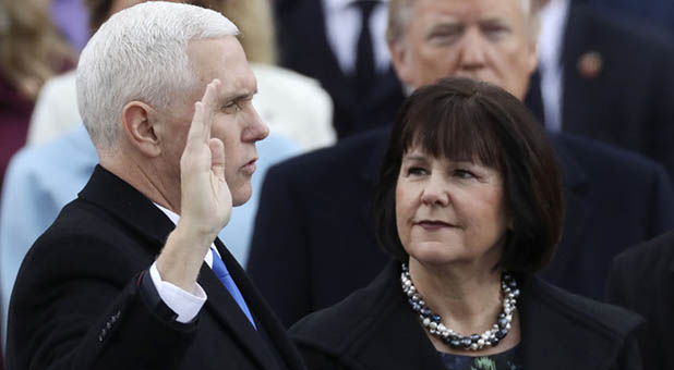 Vice President Mike Pence and Second Lady Karen Pence