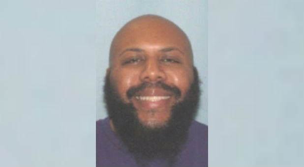 Steve Stephens, who Cleveland Division of Police said was being sought in connection with the killing of an individual, is seen in an undated handout photo