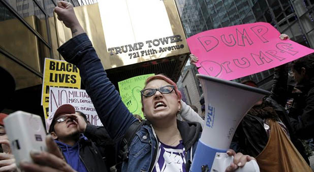 Trump Tower Protesters