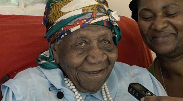 Violet Mosse-Brown, affectionately known as 'Aunt V,' has now been declared the oldest living person in the world.