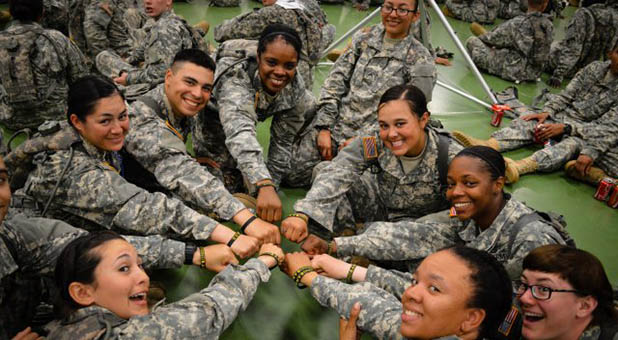Women U.S. Army Soldiers
