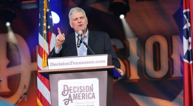 "Franklin Graham says, ""And we need people who serve and follow Jesus Christ to learn the issues, pay attention to the candidates, and vote in every election—local, state, and national. I'm not telling people who to vote for."""