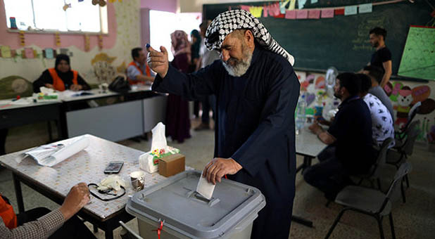 Palestinian Voting in Council Elections