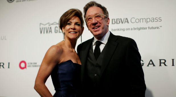 Tim Allen, right, may have his family-friendly 'Last Man Standing' picked up by CMT.