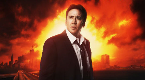Nicolas Cage as Ray Steele in 'Left Behind'