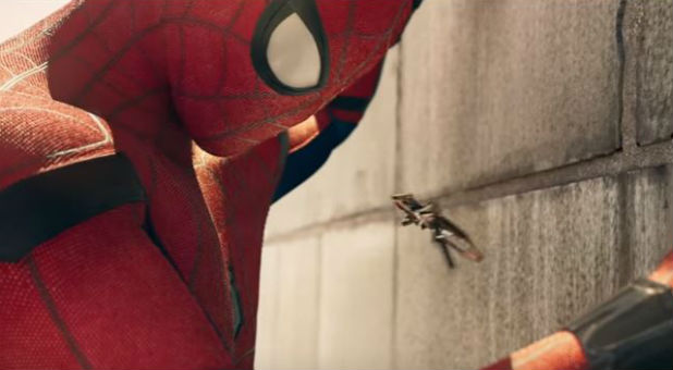 """A scene from """"Spider-Man: Homecoming"""""""