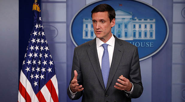 WHite House Homeland Security and Cybersecurity Adviser Tom Bossert