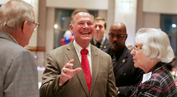 There is good news: Judge Roy Moore won the Alabama Republican Primary last week! Gideons and Rahabs are beginning to stand.