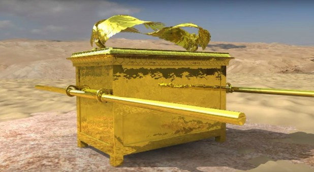 A rendering of the ark of the covenant