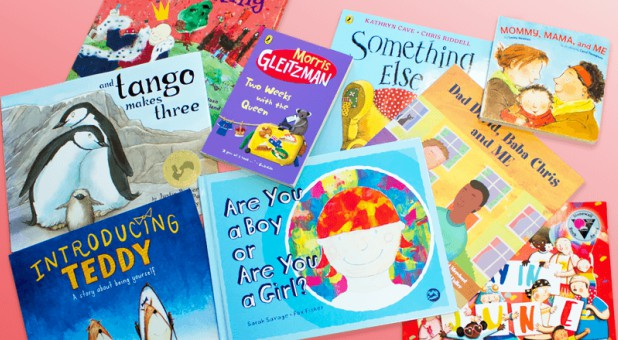 Books to encourage children to question their gender are being pushed on nurseries and primary schools across the U.K.