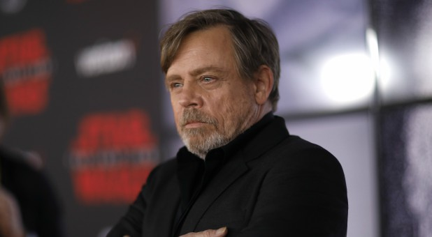 Mark Hamill plays Luke Skywalker in 'Star Wars'